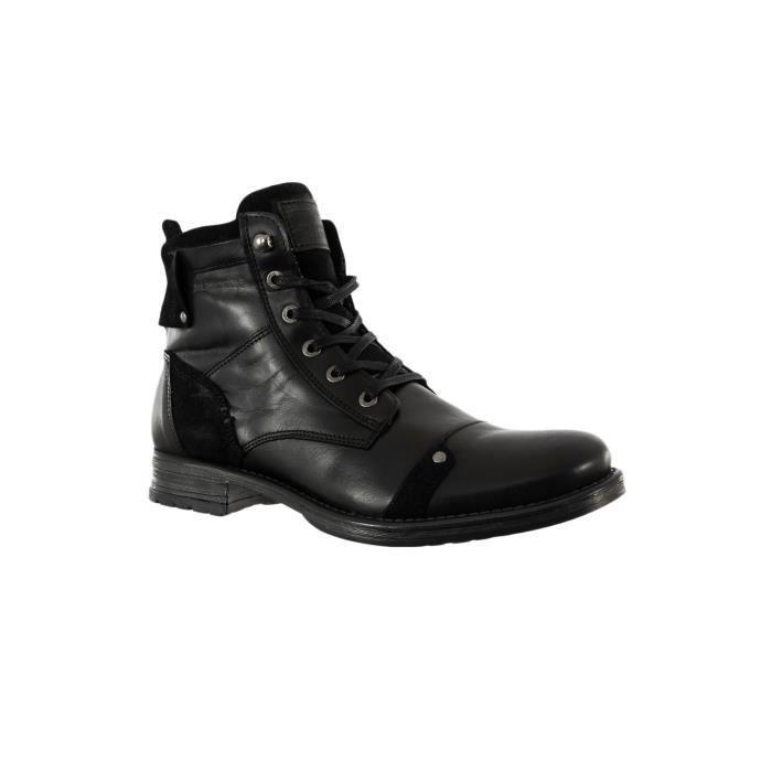 Chaussures Ville Redskins L101 Yani 02 Noir