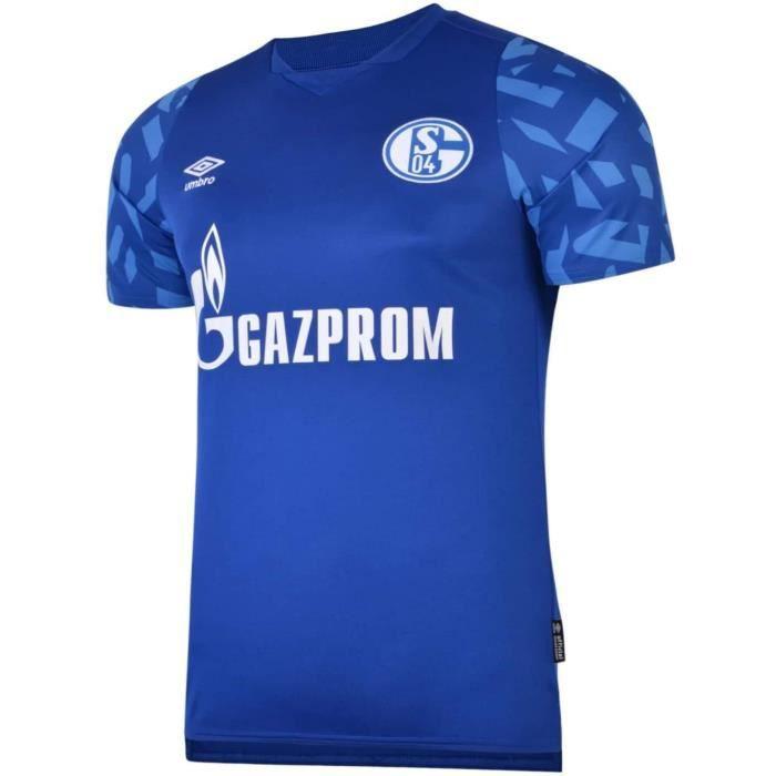 Maillot Schalke 04 Domicile 2019/2020 Football Taille Adulte Bleu