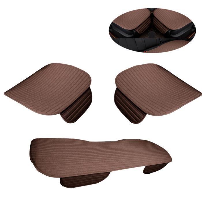 Kit de tapis de siège auto coussin de respirant pour voiture trois pièces (café) AIDE A LA CONDUITE HANDICAPEE