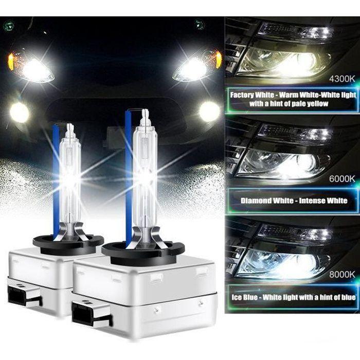 D3S D3R Ampoule Xénon Feu HID Winpower Lampe Remplacement 35W 8000K Phare Avant lot de 2 pour Audi/BMW/Chevrolet/Chrysler/Citroen
