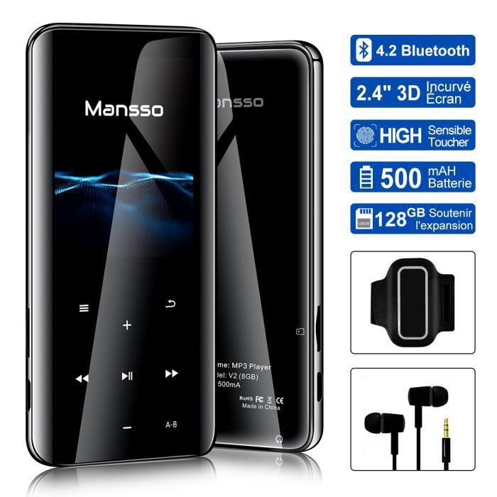 LECTEUR MP3 lecteur mp3 bluetooth 8 Go,lecteur mp3 sport,Multi