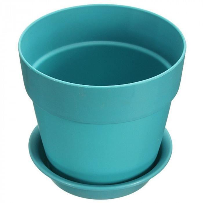 Pot de vase en fer pot de vase /à fleurs Seau rond porte-stylo Outil de stockage de bureau Folwer Pot rose