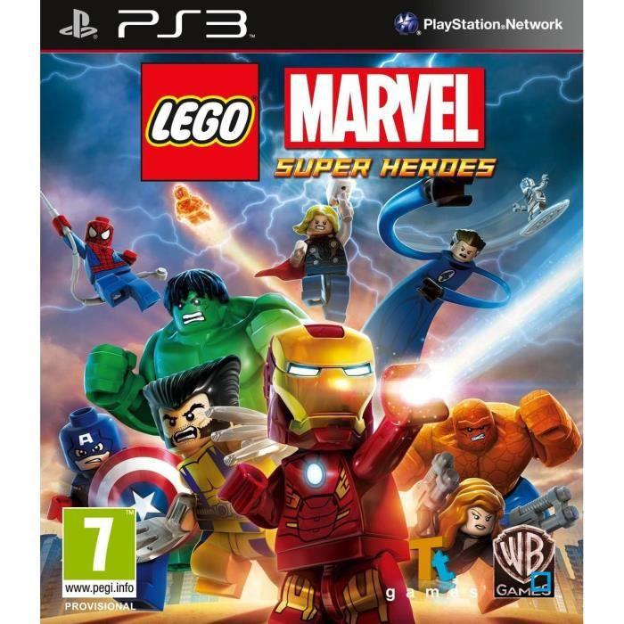 JEU PS3 LEGO MARVEL SUPER HEROES [JEU PS3]