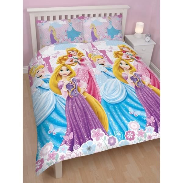 parure de lit double princesse disney dreams achat. Black Bedroom Furniture Sets. Home Design Ideas
