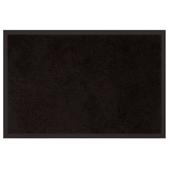 tapis d 39 entr e 80x120 dust noir achat vente paillasson cdiscount. Black Bedroom Furniture Sets. Home Design Ideas