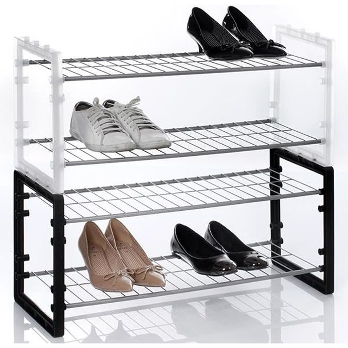 range chaussures superposable achat vente meuble. Black Bedroom Furniture Sets. Home Design Ideas