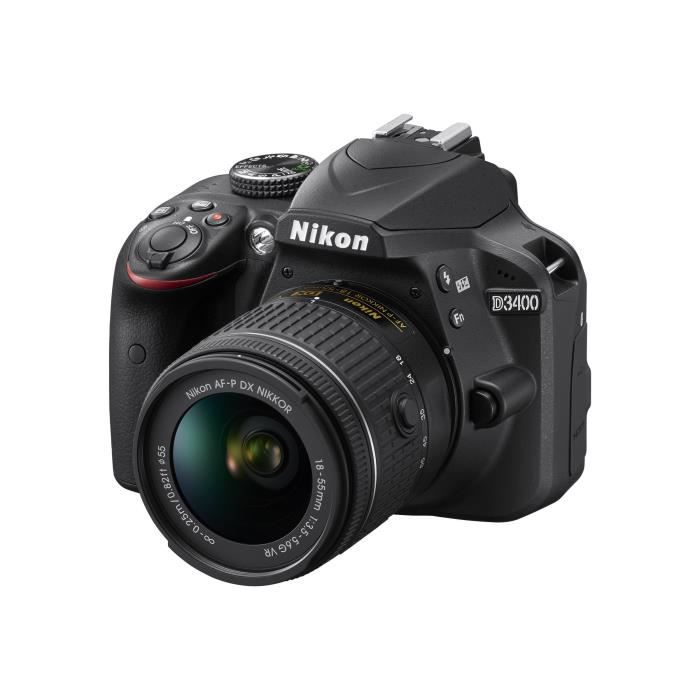APPAREIL PHOTO RÉFLEX Nikon D3400 Appareil photo numérique Reflex 24.2 M