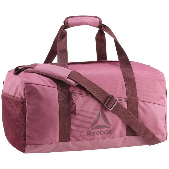 61f4b878be Sac Reebok Active Foundation Medium Grip - rose foncé - TU - Prix ...