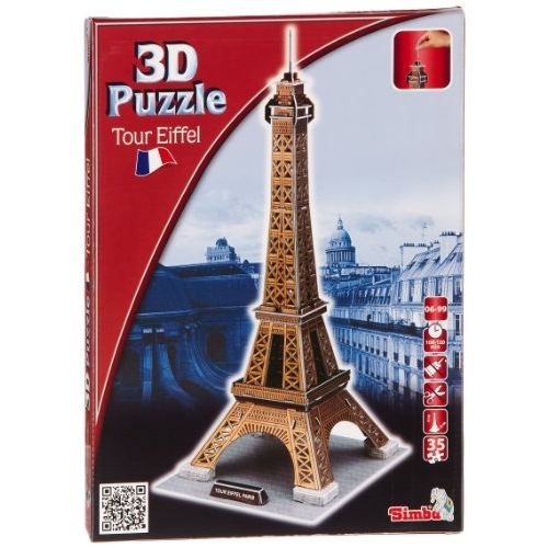 tour eiffel puzzle 3d. Black Bedroom Furniture Sets. Home Design Ideas