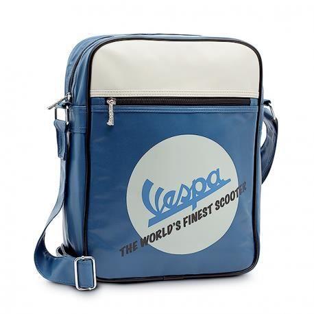Zanuso Sac /à dos original Vespa klaxon bleu marine bagages sac moto scooter tourisme voyage urbain sac /à dos loisirs id/ée cadeau