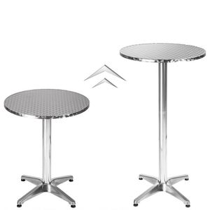 Mange debout bar achat vente mange debout bar pas for Table de cuisine demi lune