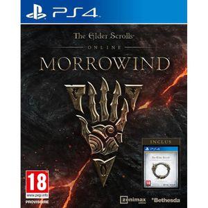 JEU PS4 The Elder Scrolls Online: Morrowind Jeu PS4