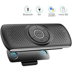 KIT BLUETOOTH TÉLÉPHONE Kit Mains Libres Voiture Bluetooth 4.2 avec Clip H