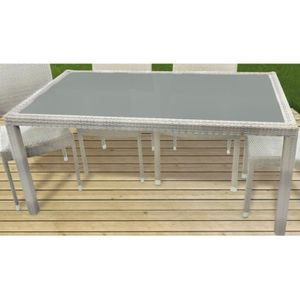 TABLE DE JARDIN  Table de jardin HAUT ASTONA