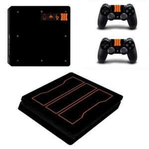 STICKER - SKIN CONSOLE Sticker-decal Autocollant Ps4 -  SLIM Call of duty