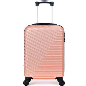 VALISE - BAGAGE VALISE CABINE | ABS – 50cm – 4 roues – LENA-E – RO