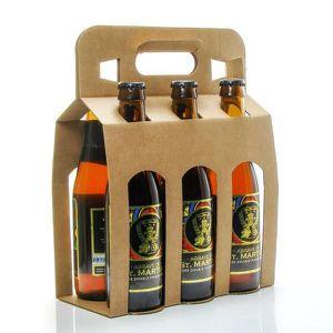 BIÈRE Pack de 6 bières ambrées Double Fermentation Brass