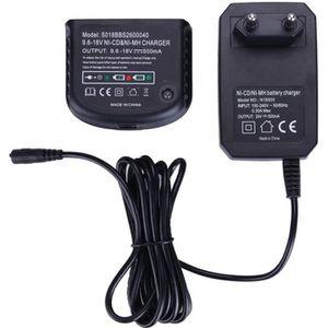 BATTERIE MACHINE OUTIL Chargeur de batterie Ni-MH-Ni-Cd pour Black & Deck