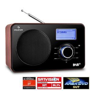 RADIO CD CASSETTE auna Worldwide - Radio numérique internet WiFi/LAN