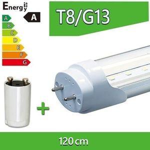 AMPOULE - LED 1x LEDVero Tubes LED T8 120cm transparent.18W Ton