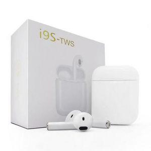KIT BLUETOOTH TÉLÉPHONE Ecouteurs i9S TWS Sans Fil Bluetooth IOS Android