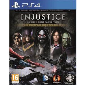 JEU PS4 Injustice - les dieux Sont parmi nous - Ultimate E