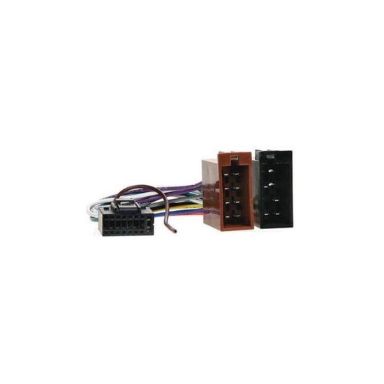 Cable adaptateur ISO autoradio KENWOOD KDC-W4037 KDC-W4041 KDC-W4044U KDC-W4141
