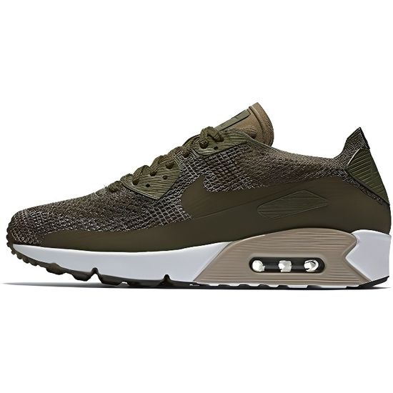 Nike Men's Air Max 90 Ultra 2.0 Flyknit Running Shoe UPBW2 Taille-42 1-2