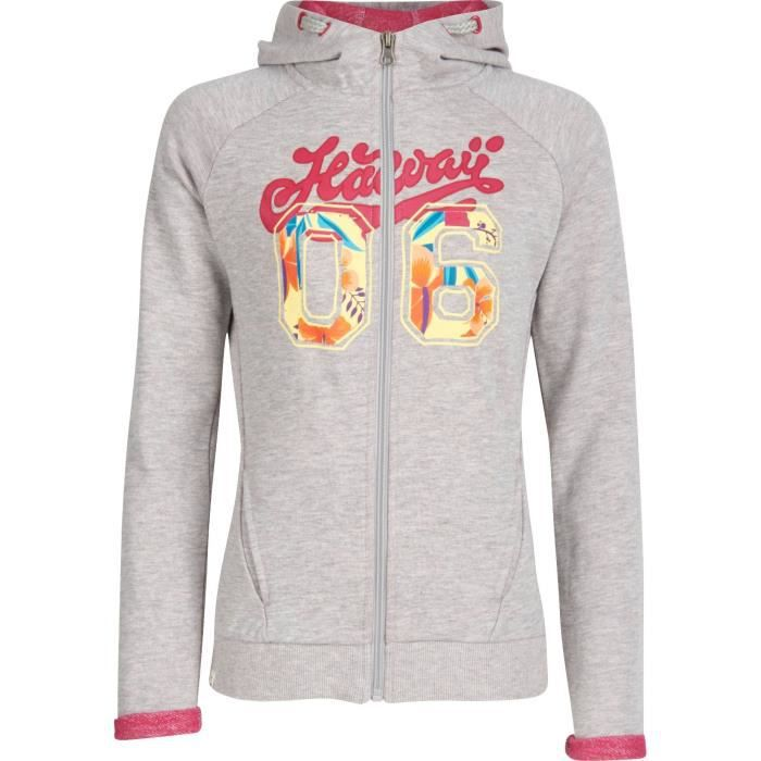 UP2GLIDE Sweatshirt zippé Coraline - Enfant - Gris