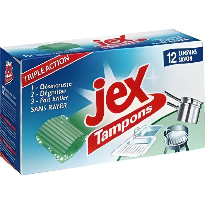Jex Tampons nettoyant avec savon