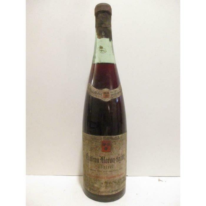 clairet château moron-lafitte (années 1950 à 1960) rosé années 50 - bordeaux