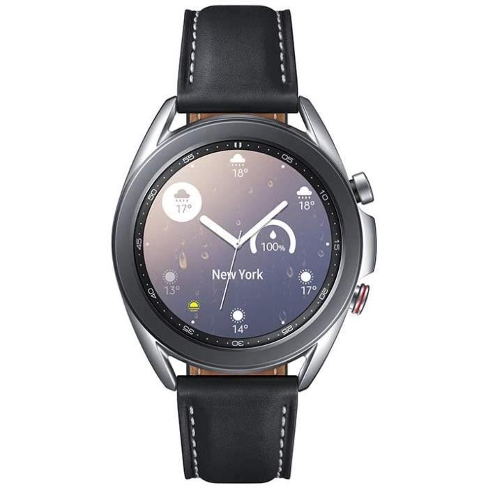 Samsung - Montre Galaxy Watch 3 R855 - 41 mm Version 4G- Mystic Silver [+ Bon d'achat ]582