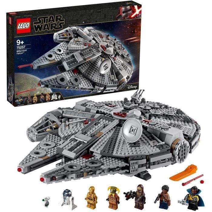 Jeux de construction LEGO®-Star Wars™ Faucon Millenium™ Jouet Enfant à Partir de 9 ans, 1351 Pièces à Construire 75257 52638
