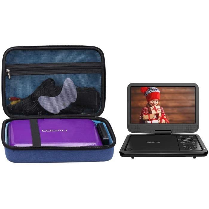 lecteur cd portable Aproca Dur Voyage &Eacutetui de Rigide Housse pour COOAU 11.5-12.5- Lecteur DVD Portable288