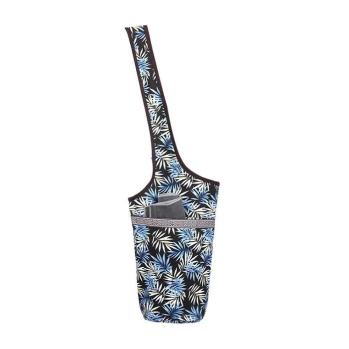 Tapis de sol,Sac en toile pour tapis de Yoga, grande taille, pochette à fermeture éclair, adapté à la plupart des tailles - Type 06