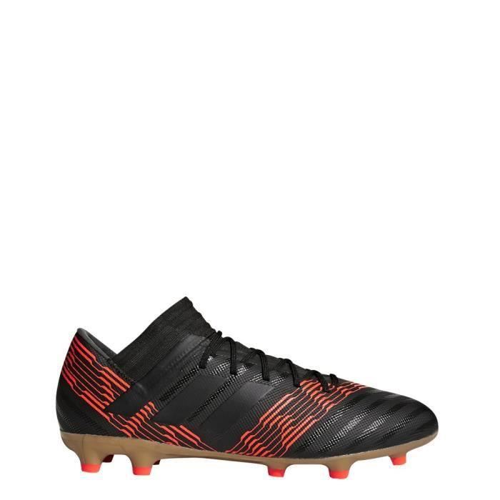 ADIDAS Chaussures de football Nemeziz 17.3 Fg - Mixte - Noir