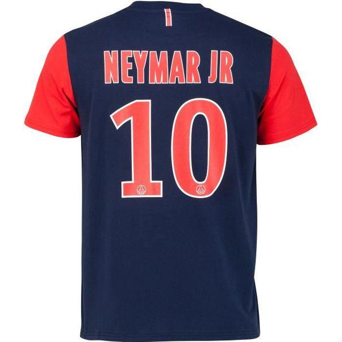 T-shirt PSG - NEYMAR Jr - Collection officielle PARIS SAINT GERMAIN - Taille Homme