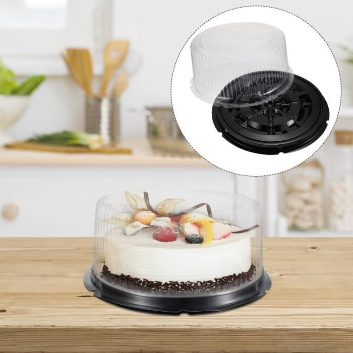5 Pièces Couvercle Transparent Boîte de Gâteau de Support Pour Les moule a gateau - moule de patisserie ustensiles patisserie