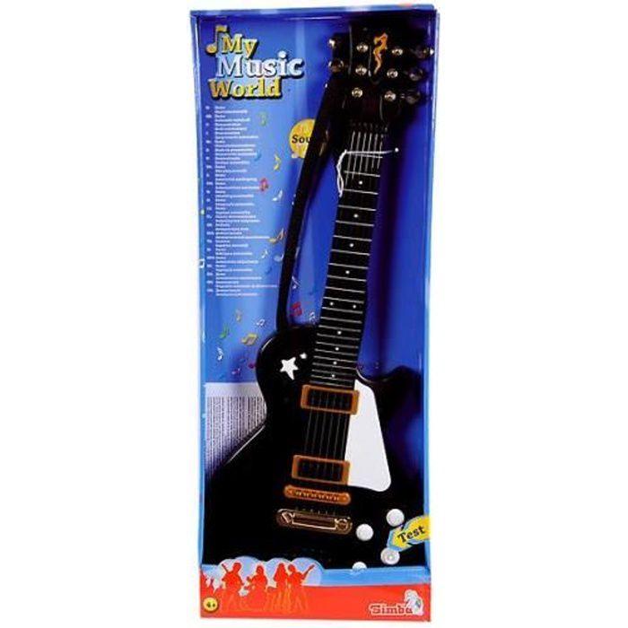 Simba Toys 106837110 Guitare rock noire