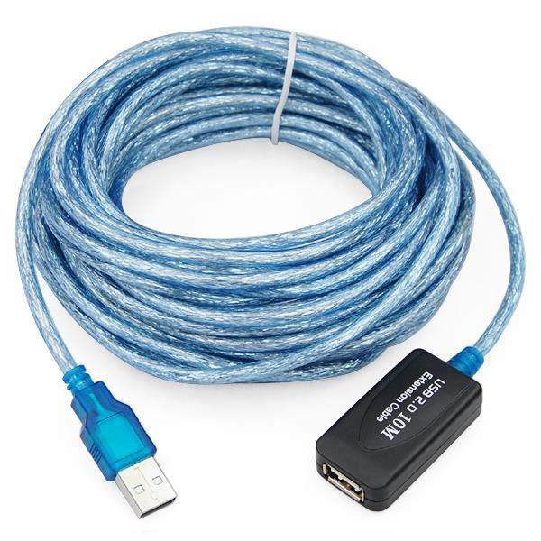 TRIXES Câble d'extension répéteur actif haut débit USB2.0 480 Mpbs - 10 m