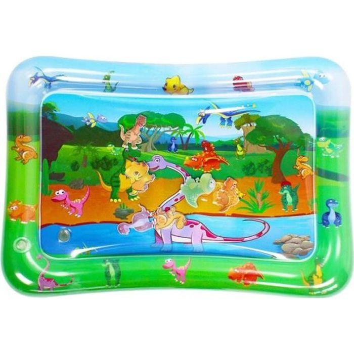 jouets de tapis de jeu d'eau gonflables pour enfants pour nourrissons et tout-petits jouets sensoriels pour bébé