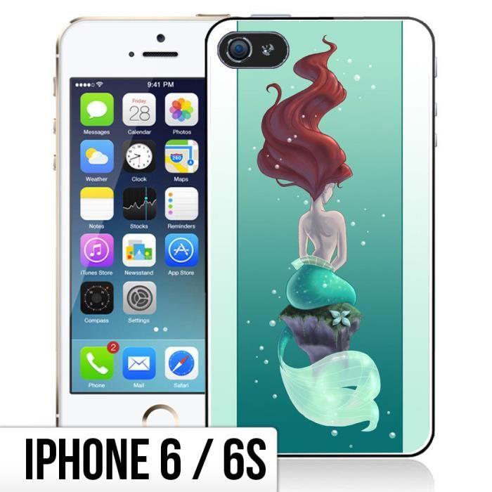 coque iphone 6 6s ariel la petite sirene