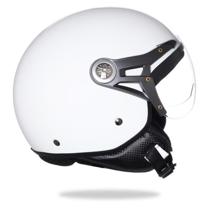 casque protection scooter moto s curit taille m achat vente accessoire casque casque. Black Bedroom Furniture Sets. Home Design Ideas