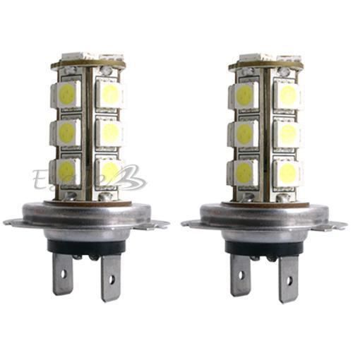 carchet 2x h7 18 smd led xenon lampe ampoule bulb blanc 3 chips for voiture achat vente. Black Bedroom Furniture Sets. Home Design Ideas