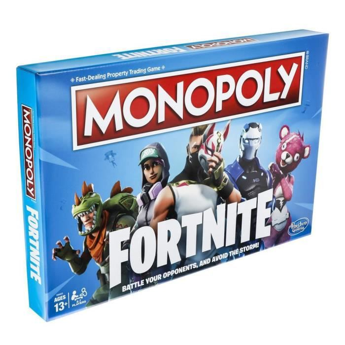 Hasbro Monopoly Fortnite Jeu de Société Neuf