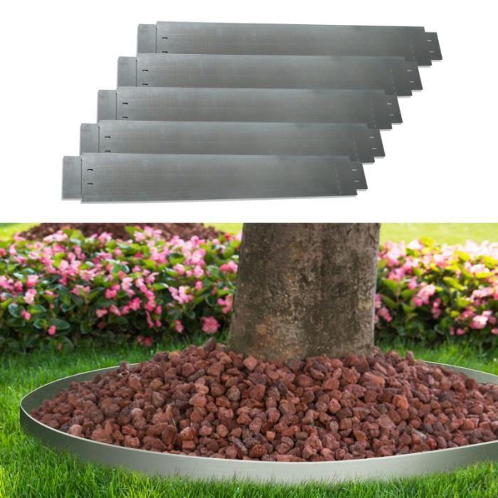 Bordure de jardin en acier galvanise achat vente pas cher - Bordure de jardin pas cher ...