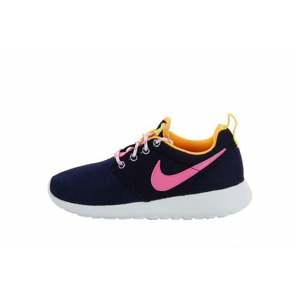 Nike Noirblancfleur Run Roshe Chaussure Pattern Pour Rouge Femme qABqR