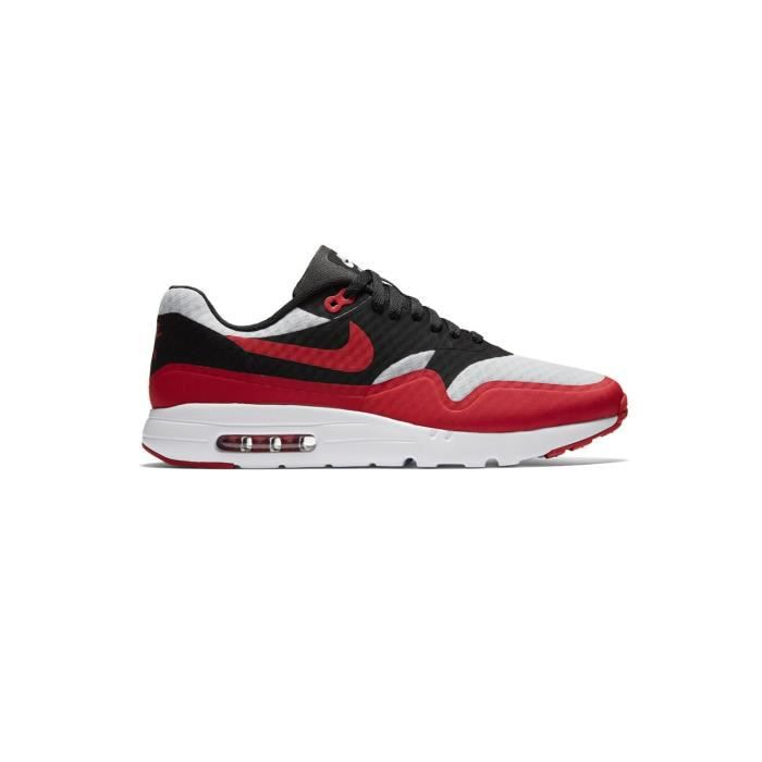 Baskets Nike Air Max 1 Ultra Pure Platinum Rouge
