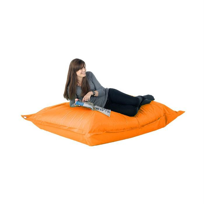 pouf g 233 ant orange in out achat vente pouf poire cdiscount