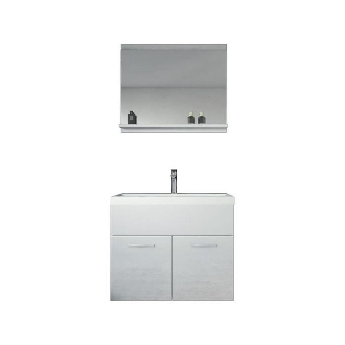 Meuble de salle de bain de Montréal 20 - Armoire de rangement